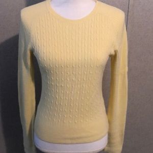 Energie yellow lightweight sweater size M